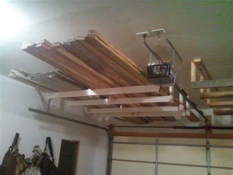 overhead garage door storage garage overhead storage 2x4 the better garages how to