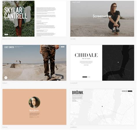It S Time For An Upgrade Squarespace 7 Takes Your Portfolio To A New Level Design Milk Squarespace Cover Page Templates