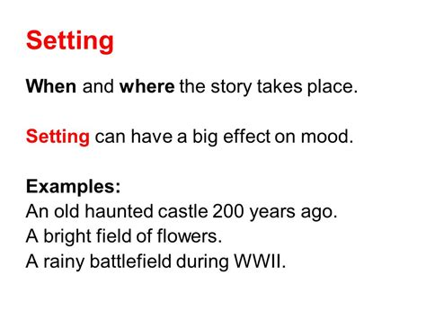 A Place Story Literary Mood How Are You Feeling Ppt