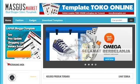 template toko online gratis untuk website template toko online blogspot gratis super keren cara