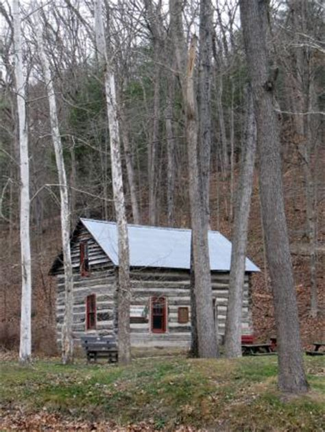 cline log cabin picture of mohican state park