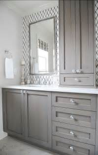 Gray Bathroom Cabinets 25 Best Ideas About Bathroom Cabinets On Master Bathrooms Bathroom Cabinets And