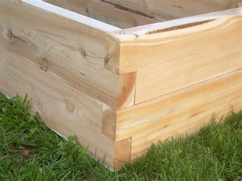 Raised Garden Bed Kits Cedar Vegetable Garden Box