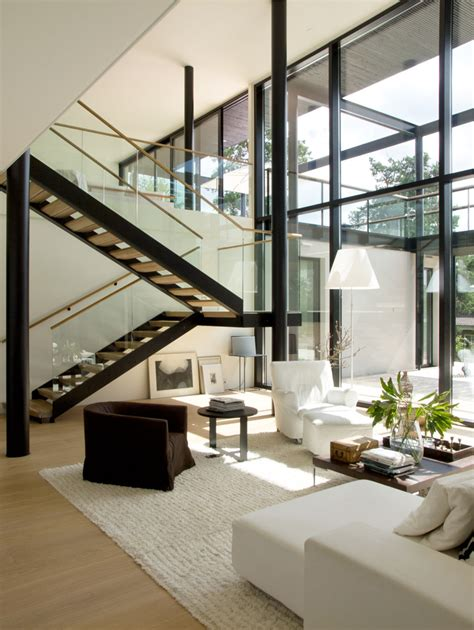modern design interior modern villa snow white design by helin co architects