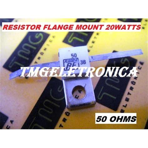 resistor flange 50 ohm resistor de berilio resistor para rf 50r 50 ohms 20watts resistor