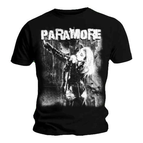 official t shirt paramore black grunge photo vintage