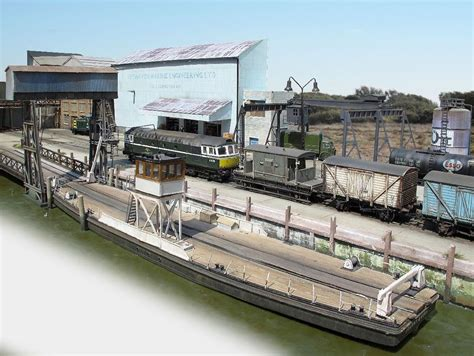 model railway boats railroad line forums hunting car float ferry pictures