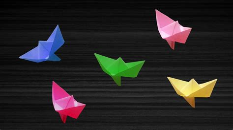 how to make a paper boat that floats origami paper