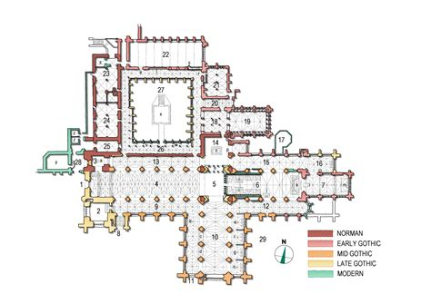 Monastery Floor Plan file chester cathedral plan3 jpg wikipedia