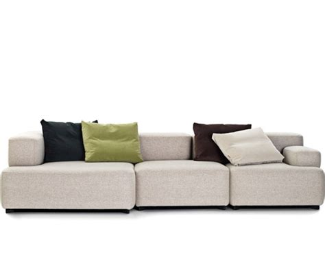 piero lissoni sofa soft alphabet 3 seat sofa hivemodern