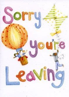 sorry you re leaving card template sorry you re leaving clipart collection