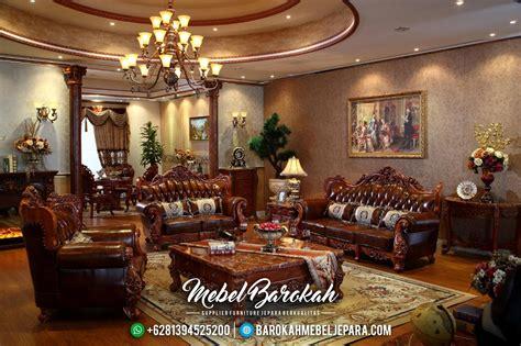 Kursi Ruang Tamu Mewah kursi tamu kayu jati mewah ukiran mebel jepara jm 0041