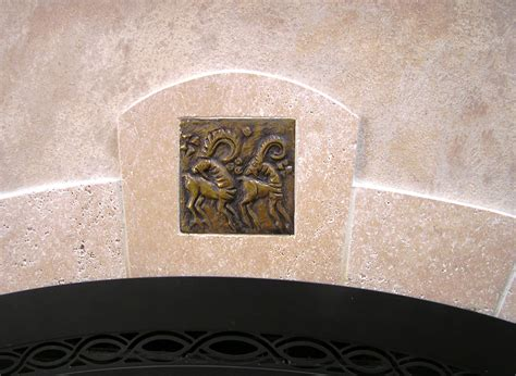 decorative fireplace tiles a remodel with a theme fros carpentry