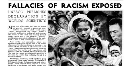 unesco changing  world poul duedahls response   issue  racism