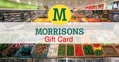 Morrisons Gift Cards - getreward co uk home of unlimited gifts and rewards in uk