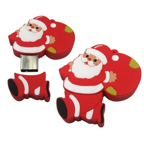 Santa Claus Angpao Custom 2117 santa claus usb flash drive custom shape usb s shape flash drive and usb