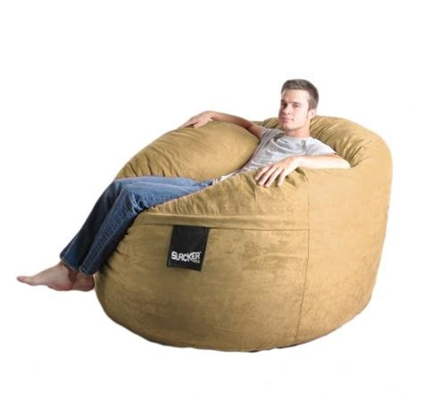 comfortable bean bag chairs slacker sack foam bean bag chairs are the most comfortable