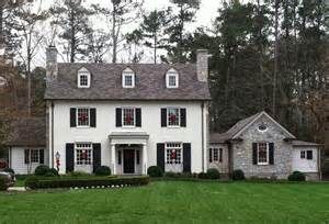 Exterior Paint Color Ideas For Older Homes - things that inspire a classic white house black shutters