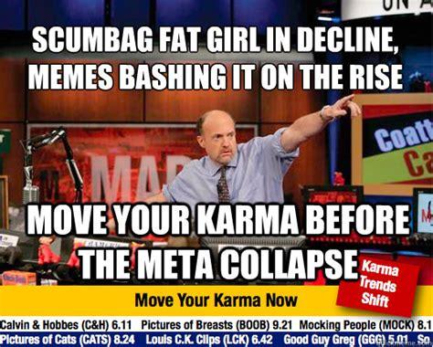 Scumbag Fat Girl Meme - scumbag fat girl in decline memes bashing it on the rise