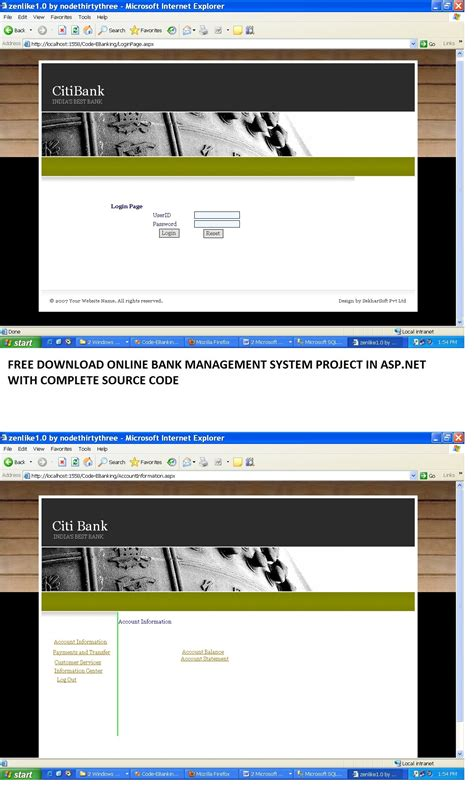 Bank Management bank management system project report with source code