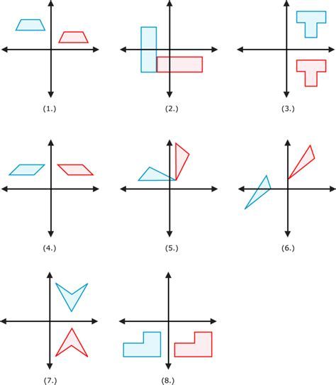 Identify The Transformation Worksheet by Rotation Maths Worksheet Transformation Worksheets