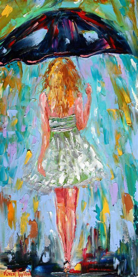 printable fine art fine art print rain dance four from oil by karensfineart