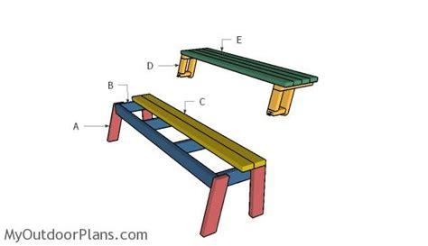 folding picnic table plans myoutdoorplans