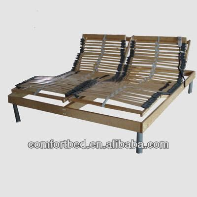slatted electric bed adjustablesingle double queen king