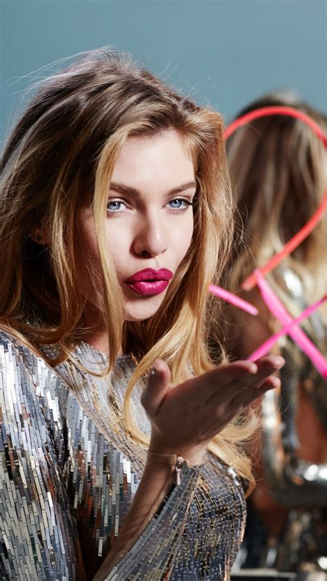 wallpaper stella maxwell beauty victorias secret angel