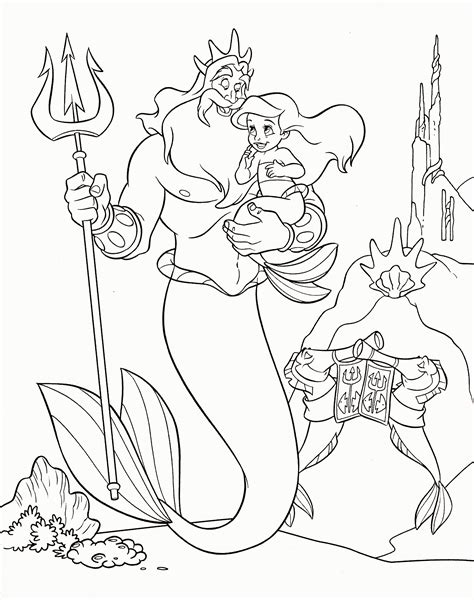 coloring pages princess pdf ariel disney princess coloring page coloring home