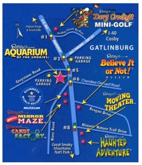 vrbo map ripley s gatlinburg map www vrbo 558850 or http