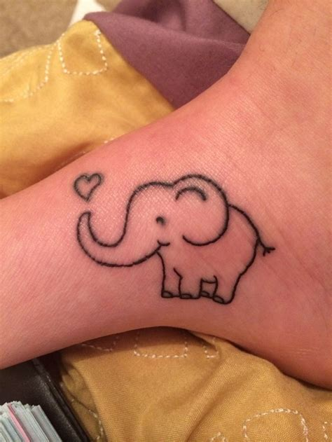 cute elephant tattoo designs 47 best elephant tattoos