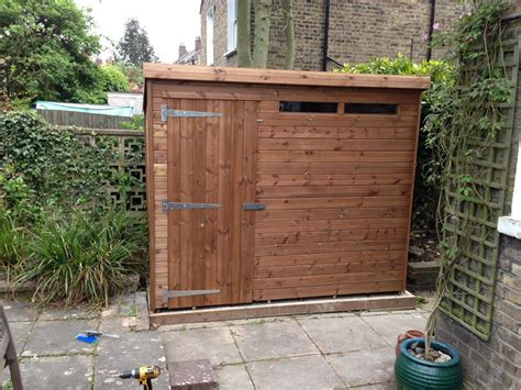 8x5 Shed by 8x5 Pent A Tanalised Security Shed Easy Shed