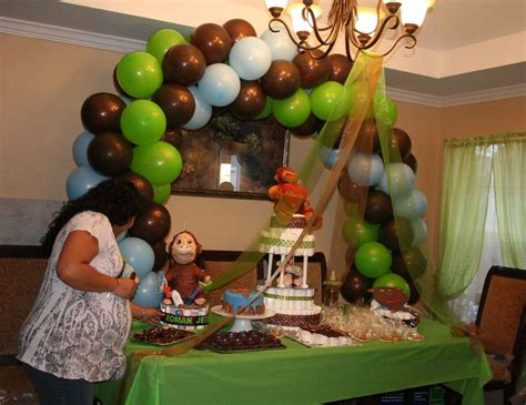 mimm 41 with baby shower highlights and more healthy moneky baby shower quot one little monkey quot catch my party