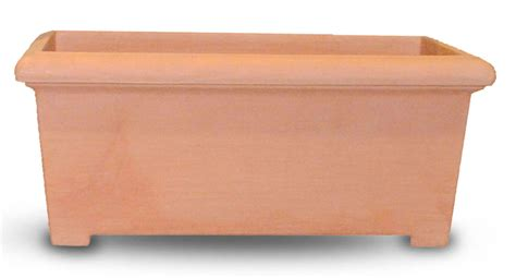 Rectangular Terracotta Planters by Rectangle Planter Tusco Products Tusco Products
