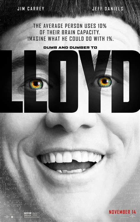 film lucy meaning dumb dumber to posters harry lloyd meet lucy