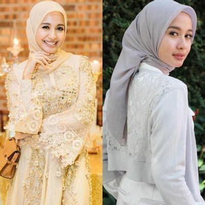 bella yahya hijab tutorial til stylish dengan gaya hijab minimalis ala laudya