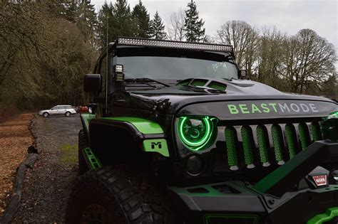 Beast Mode Jeep by Marshawn Lynch Selling His Beast Mode Wrangler Carscoops