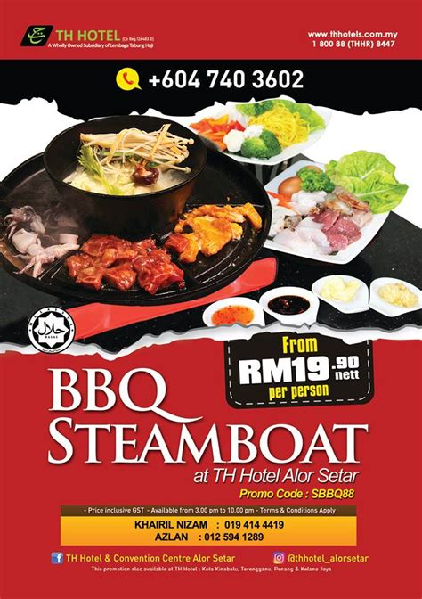 steamboat alor setar th hotelicious bbq steamboat crave th hotel