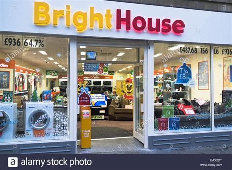 dh bright house shop uk electrical appliance shop exterior