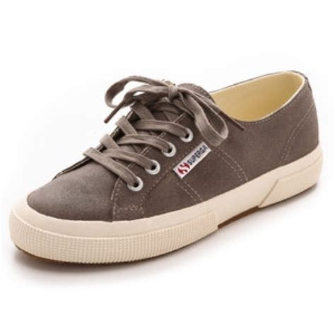 superga suede sneakers 52 superga shoes superga waxed suede sneaker taupe
