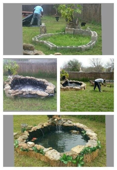 diy koi pond diy water garden ideas 54 pond garden ideas and design inspiration diy craft ideas gardening