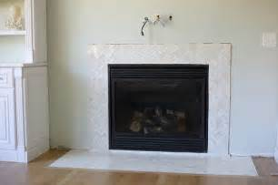 fireplace marble tile how to install a marble herringbone fireplace surround and