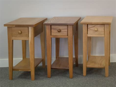 Shaker Furniture Of Maine by Shaker Furniture Of Maine 187 Cherry Chairside Table With Drawer