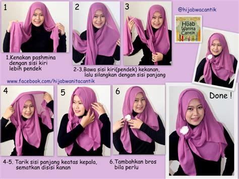 video tutorial hijab pashmina wisuda hijab tutorial pashmina chiffon cerutti hijab wanita cantik