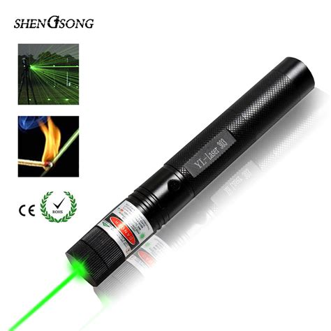 Green Laser 303 T1910 aliexpress buy 532nm powerful green laser 303 pointer lasers sight adjustable