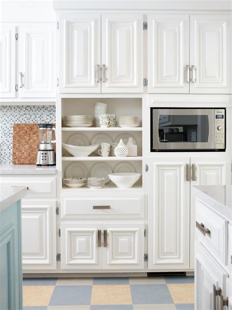 white kitchen cabinets resurfacing kitchen cabinets pictures ideas from hgtv