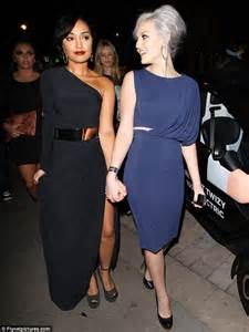 That s a lot of leg leigh anne pinnock dressed to impress in a thigh