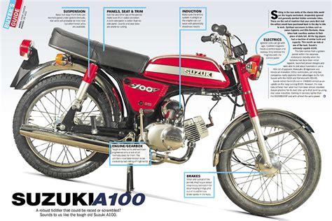 Jok Suzuki A100 By Classic Mart at a glance guide suzuki a100 classic motorcycle mechanics