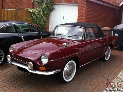 renault caravelle for sale 1968 renault caravelle fully restored softtop and